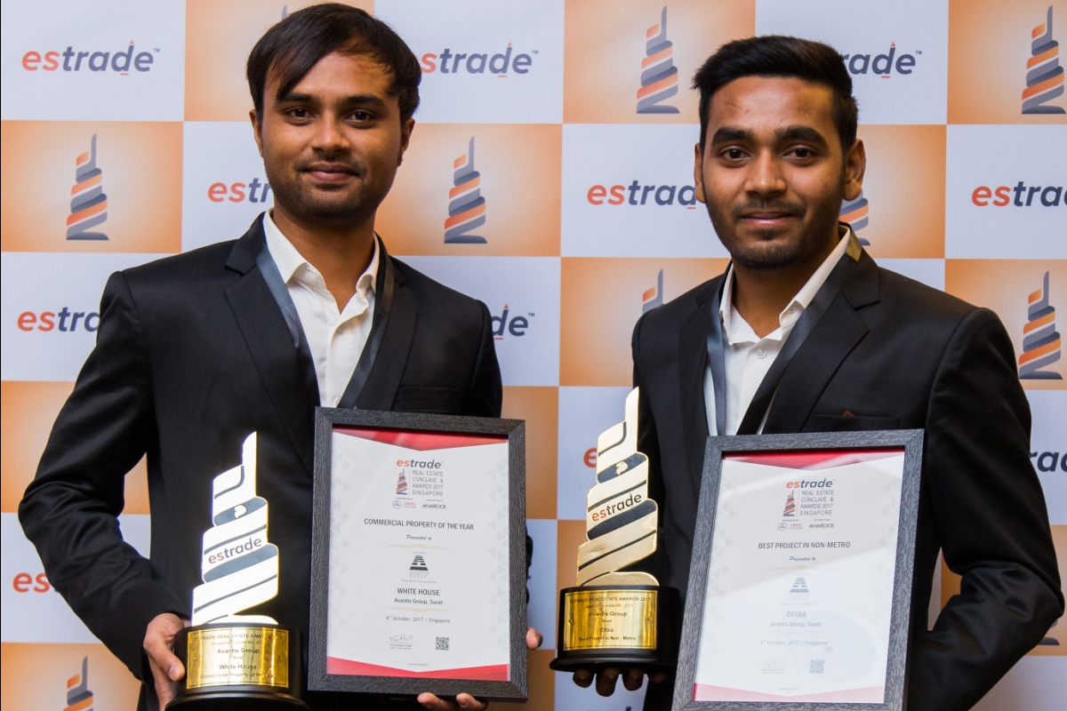 (R-L) Viral Shah – Director (Avantis Group – Gujarat) & Hardik Patel